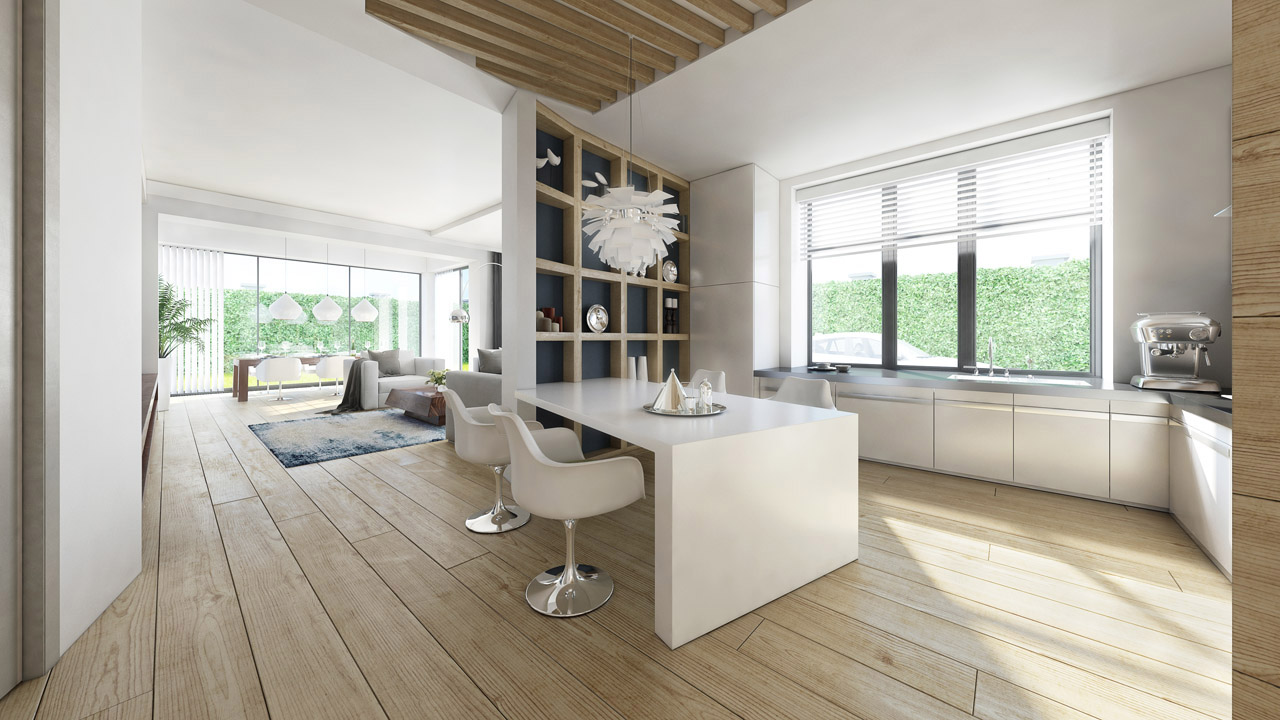 Fotorealistische 3d interieur impressie choro 3d for Interieur 3d