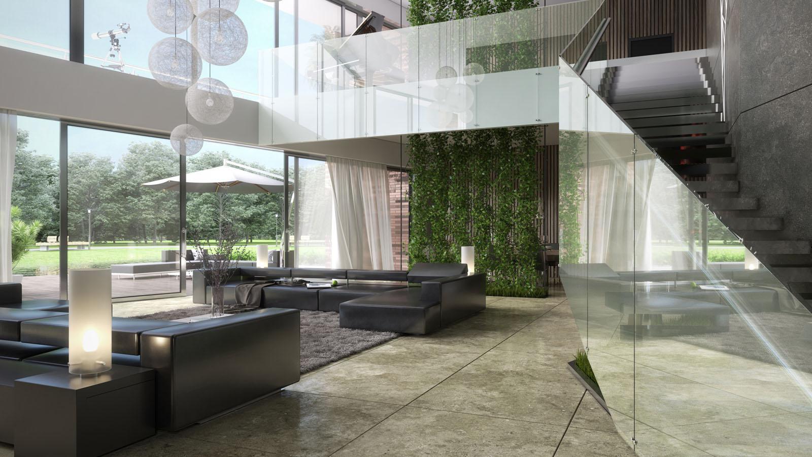 3d interieur impressie choro 3d visualisatie bureau choro. Black Bedroom Furniture Sets. Home Design Ideas