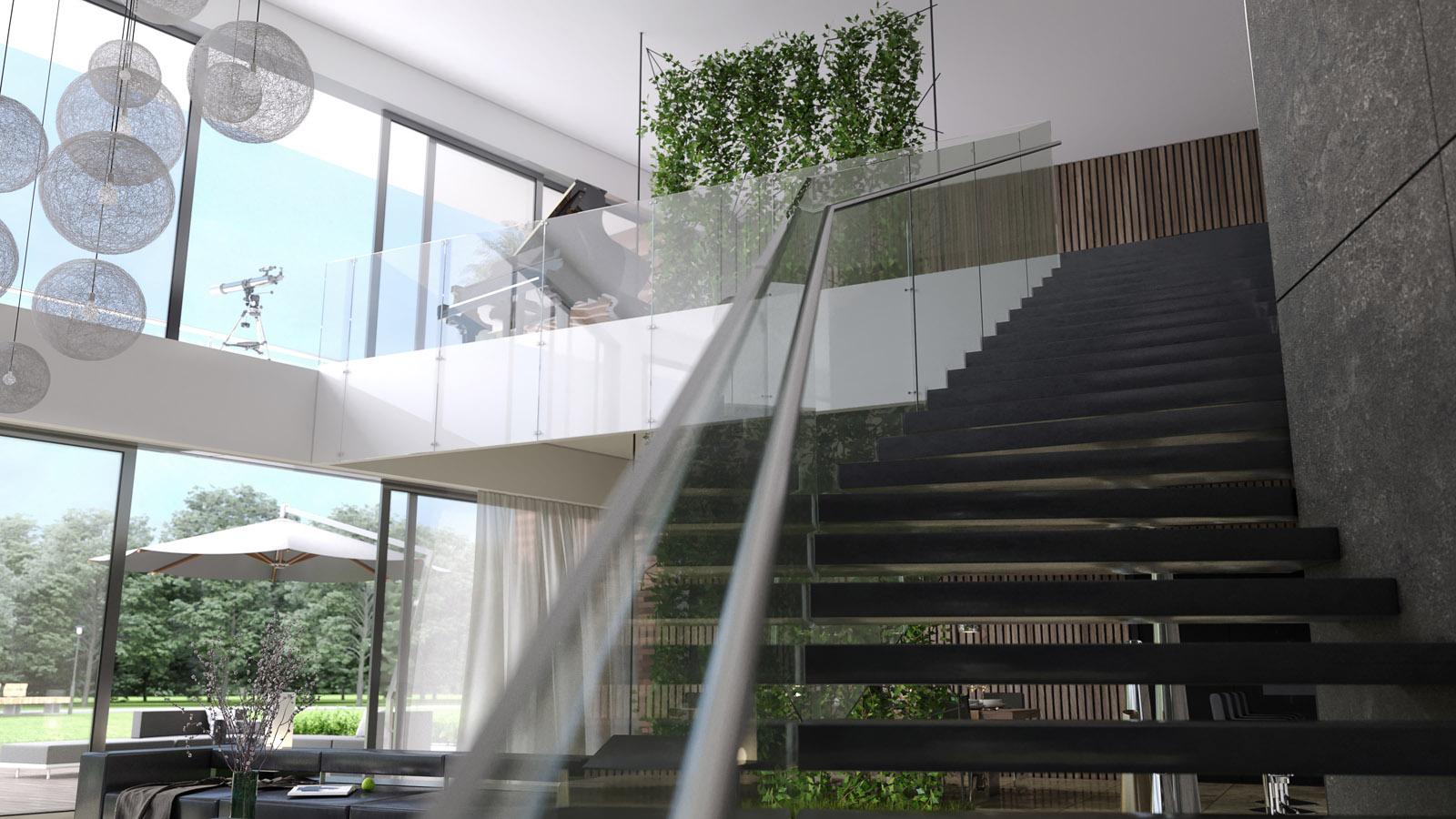 Vide In Woonkamer : D interieur ontwerpvisualisatie luxe woning choro
