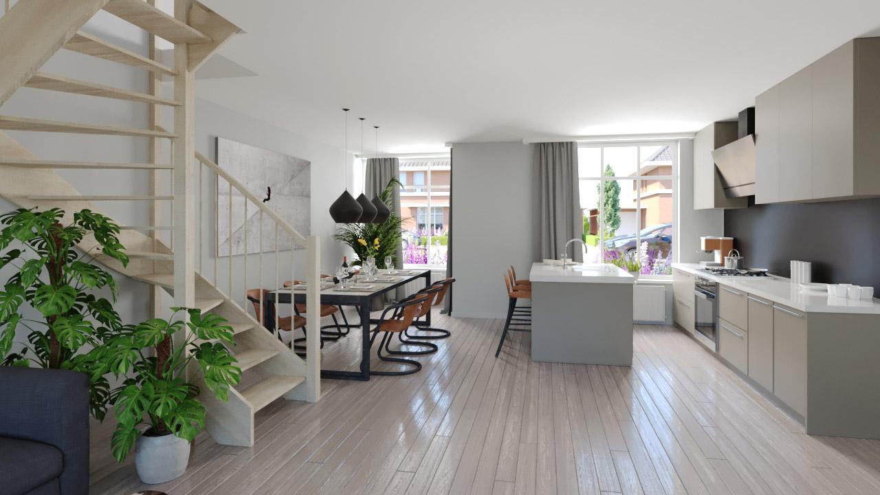 3d Interieur Inrichten : D sfeerimpressie van uw woning woonkamer impressie choro