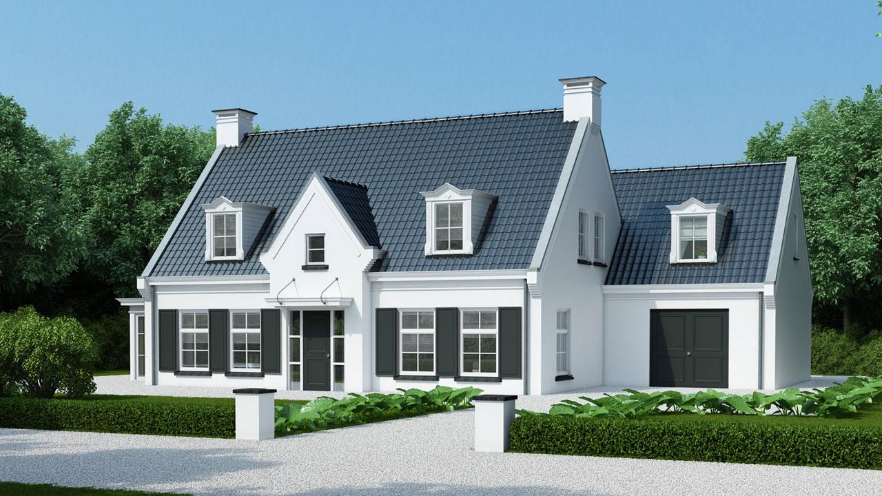 Choro 3d visualisatie bureau top kwaliteit artist for Huis in tuin voor ouders