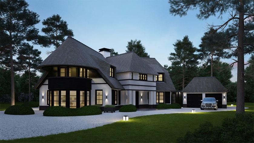 Hoe ziet uw droomhuis eruit laat ons uw villa te for Grote villa